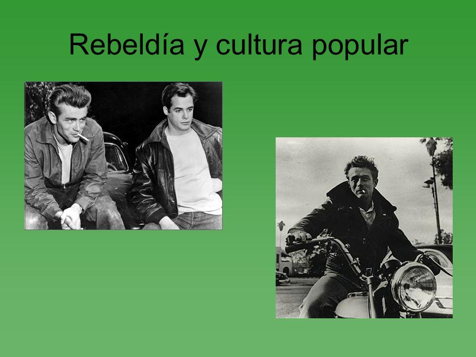 Rebeldía y cultura popular