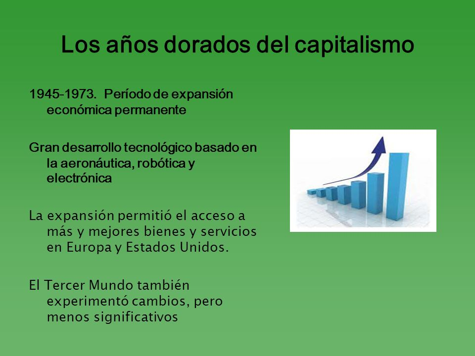 Los años dorados del capitalismo