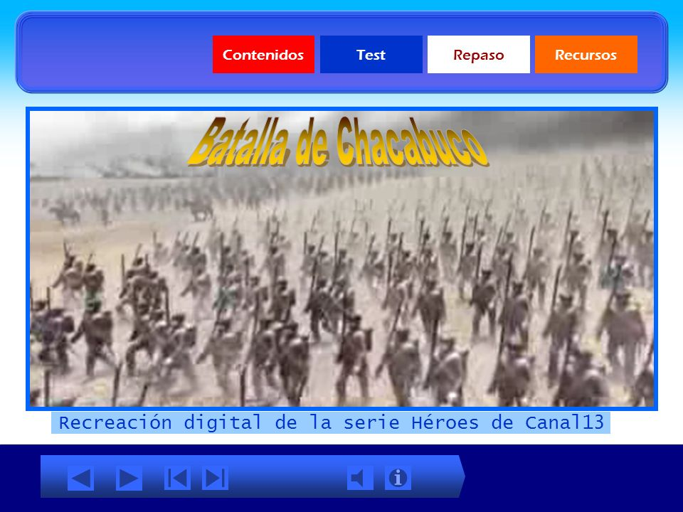 Recreación digital de la serie Héroes de Canal13