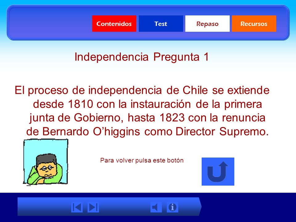 Independencia Pregunta 1