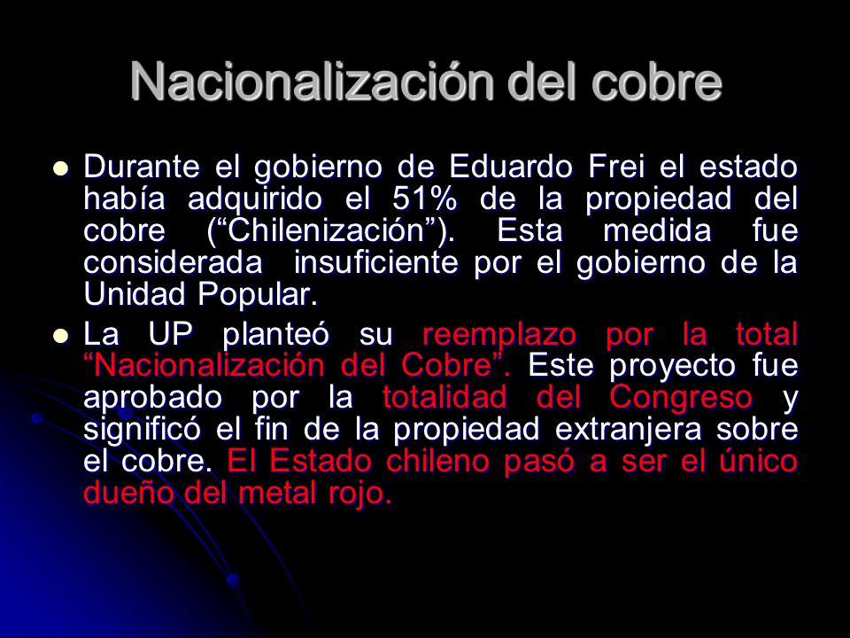 Nacionalización del cobre