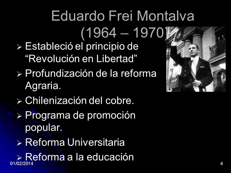 Eduardo Frei Montalva (1964 – 1970)