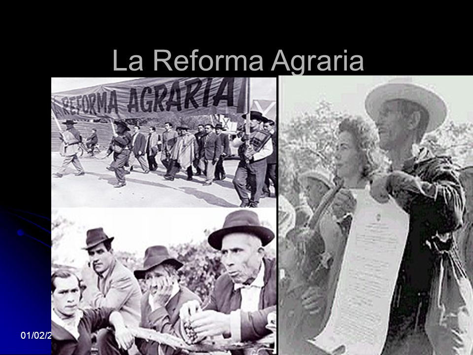 La Reforma Agraria 24/03/2017 5
