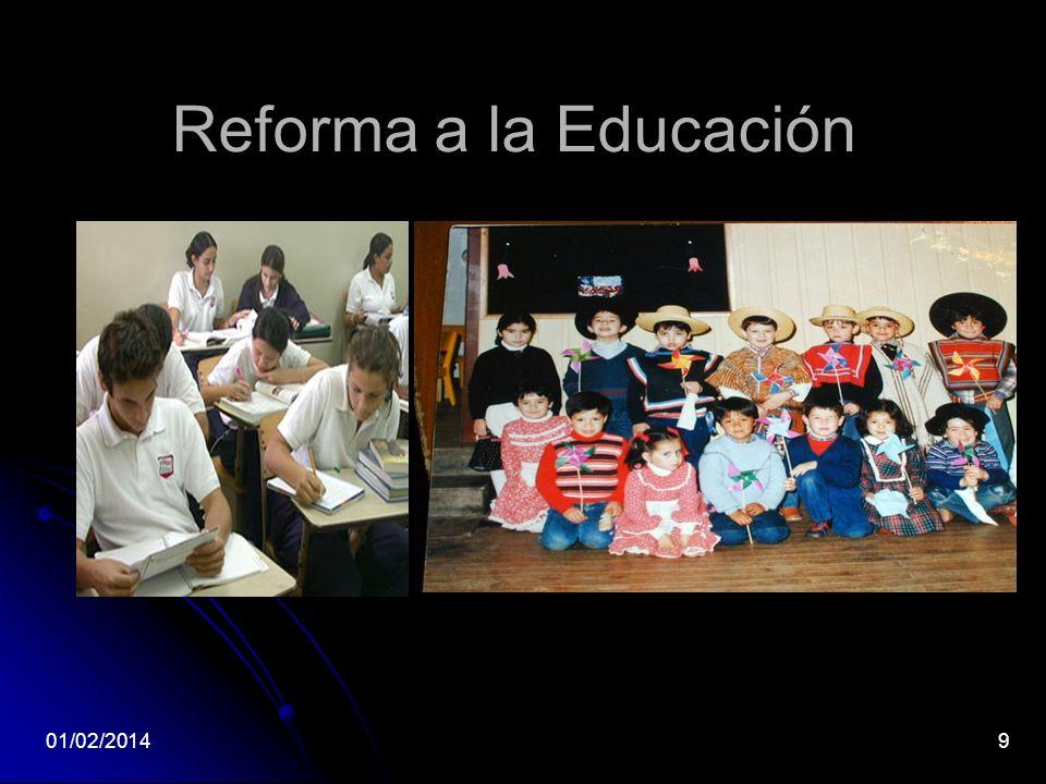 Reforma a la Educación 24/03/2017 9