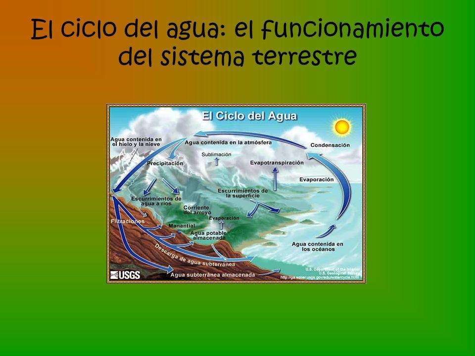 El ciclo del agua: el funcionamiento del sistema terrestre