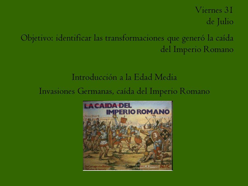 Introducción a la Edad Media