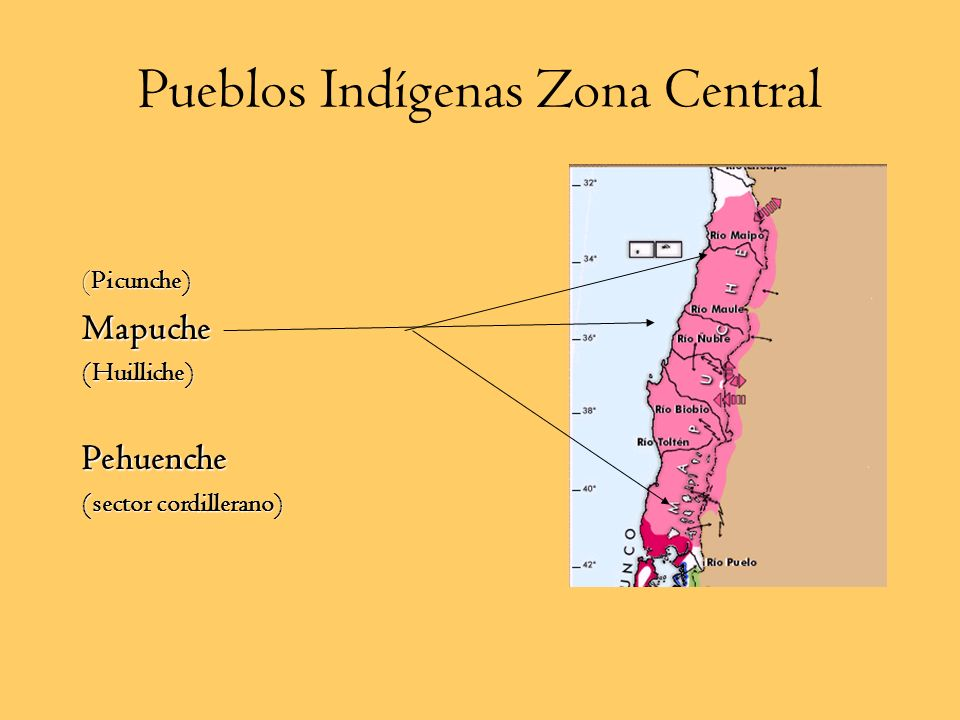 Pueblos Indígenas Zona Central