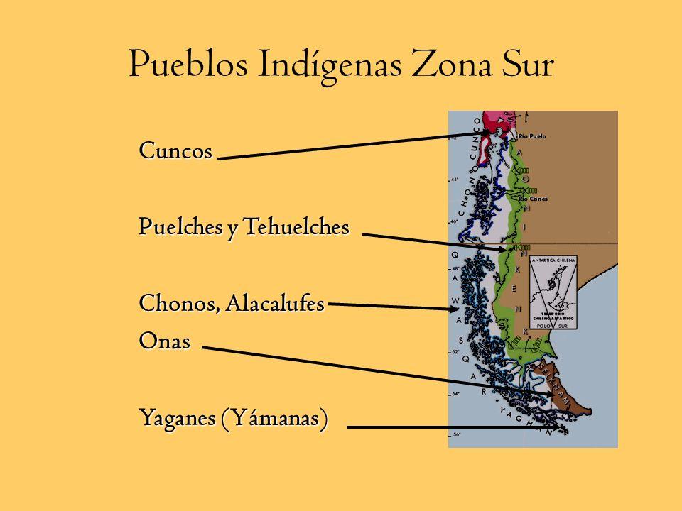 Pueblos Indígenas Zona Sur