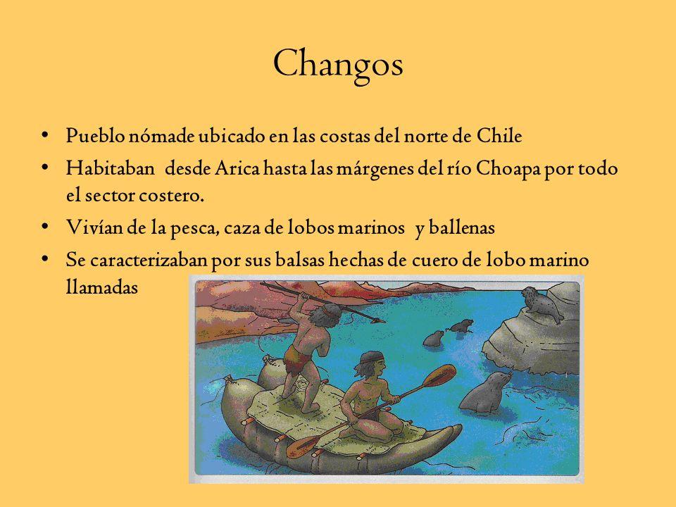Changos Pueblo nómade ubicado en las costas del norte de Chile