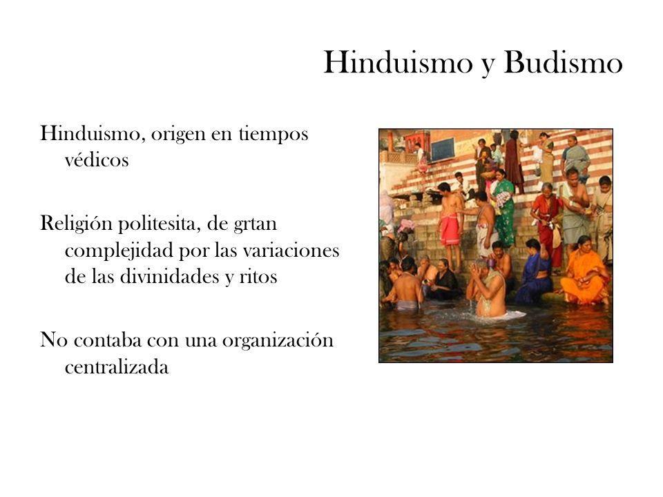 Hinduismo y Budismo Hinduismo, origen en tiempos védicos