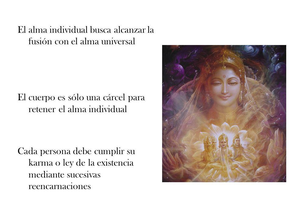 El alma individual busca alcanzar la fusión con el alma universal