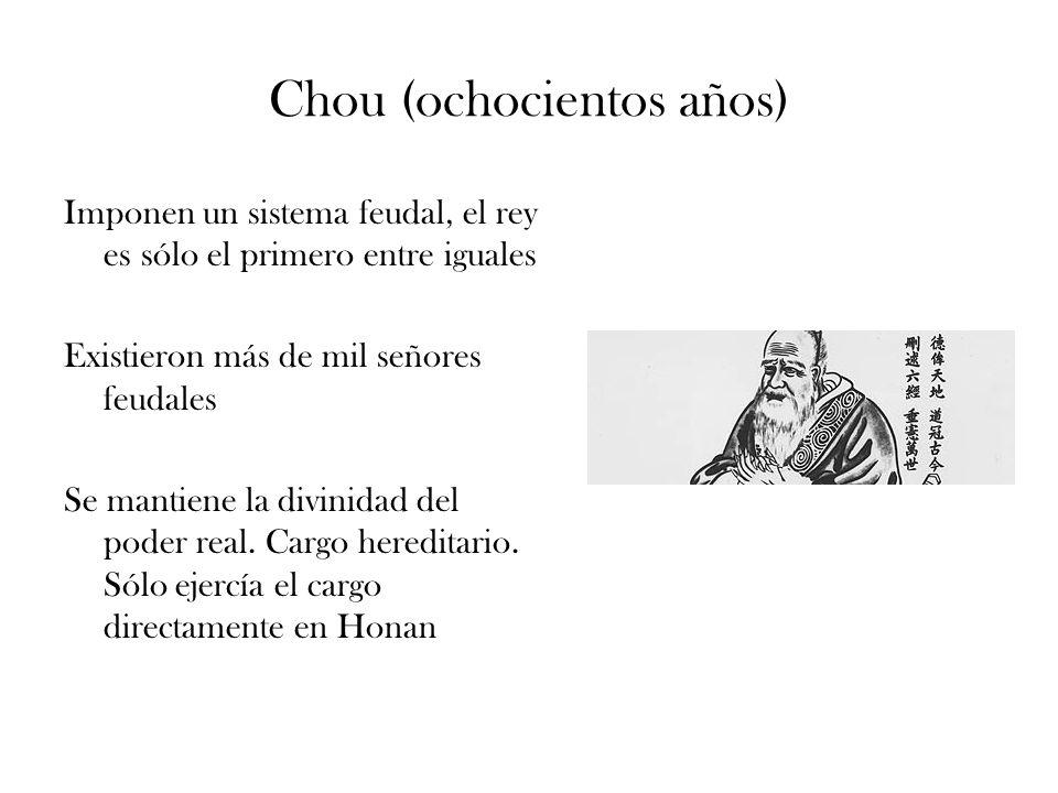 Chou (ochocientos años)