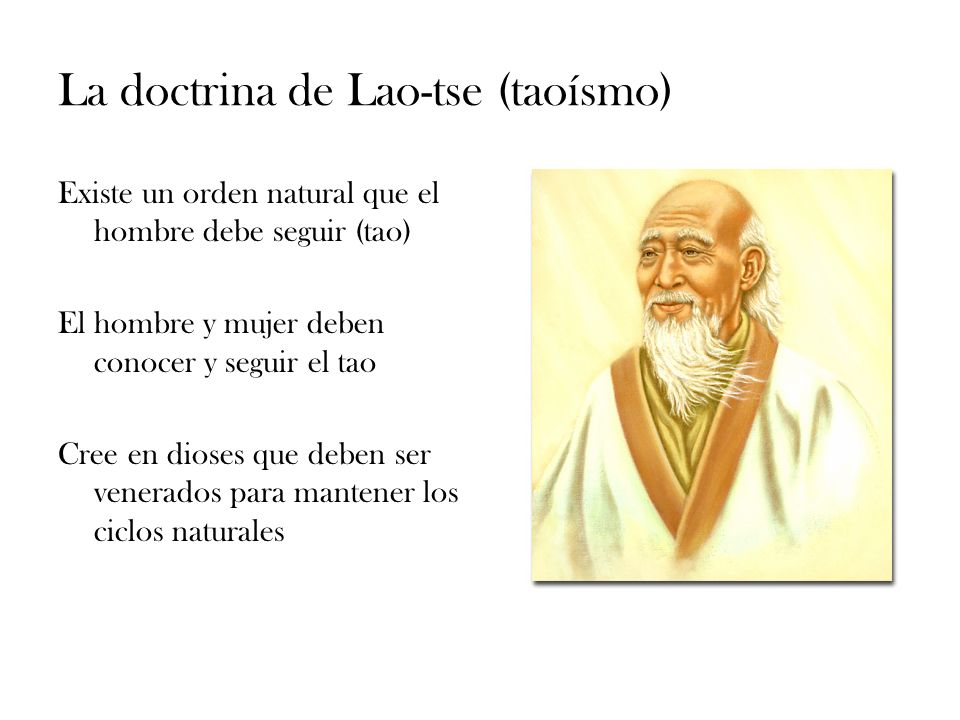 La doctrina de Lao-tse (taoísmo)