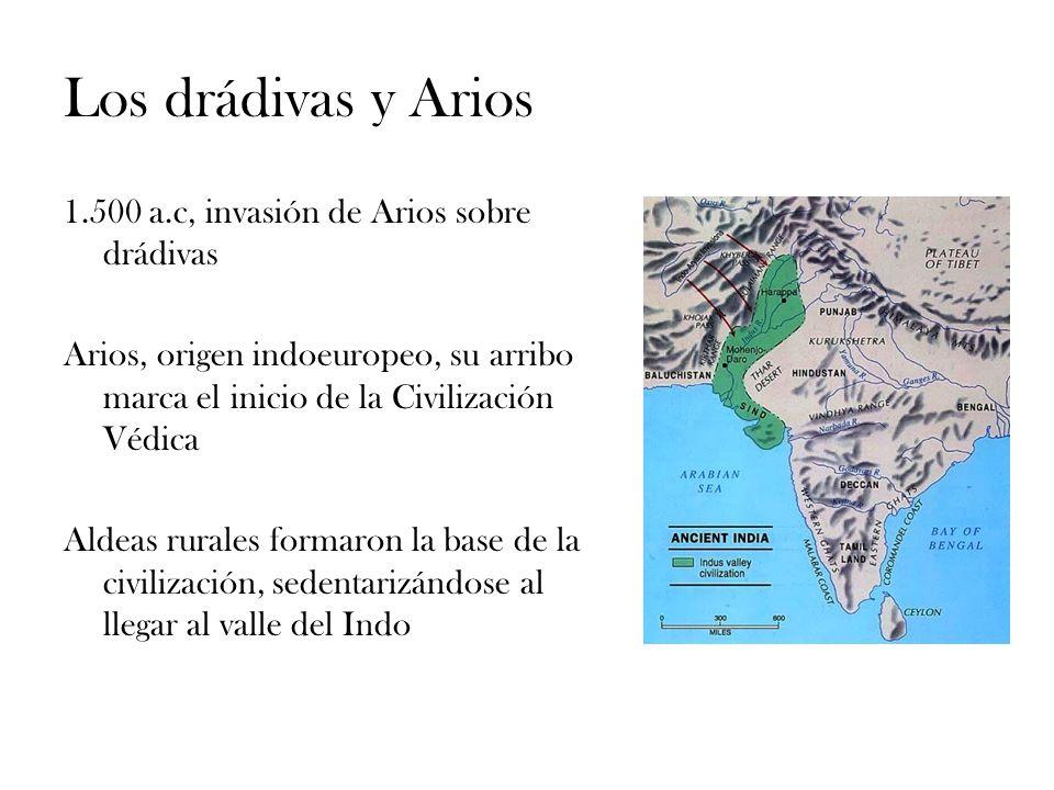 Los drádivas y Arios 1.500 a.c, invasión de Arios sobre drádivas