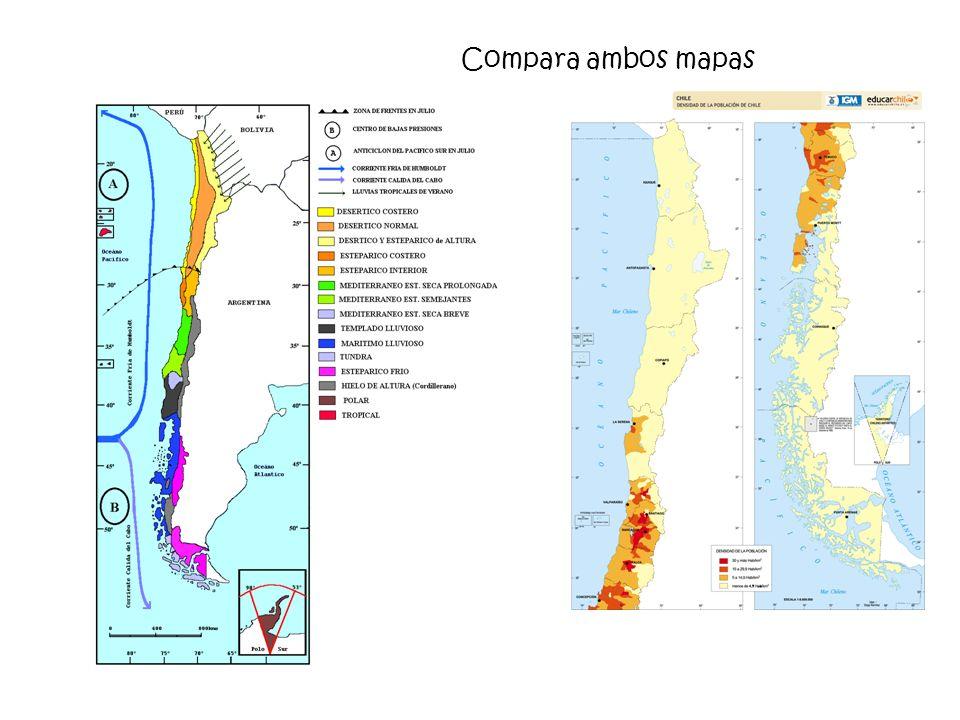 Compara ambos mapas