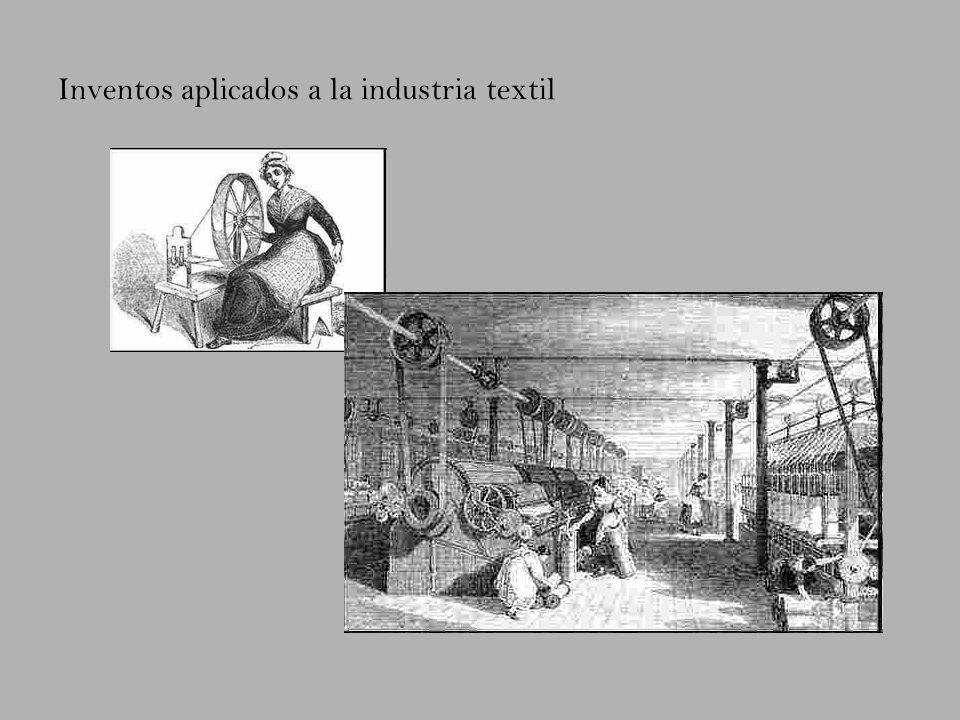 Inventos aplicados a la industria textil