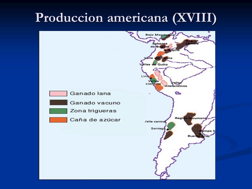 Produccion americana (XVIII)