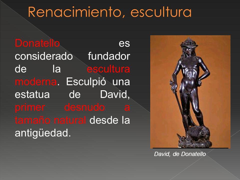 Renacimiento, escultura