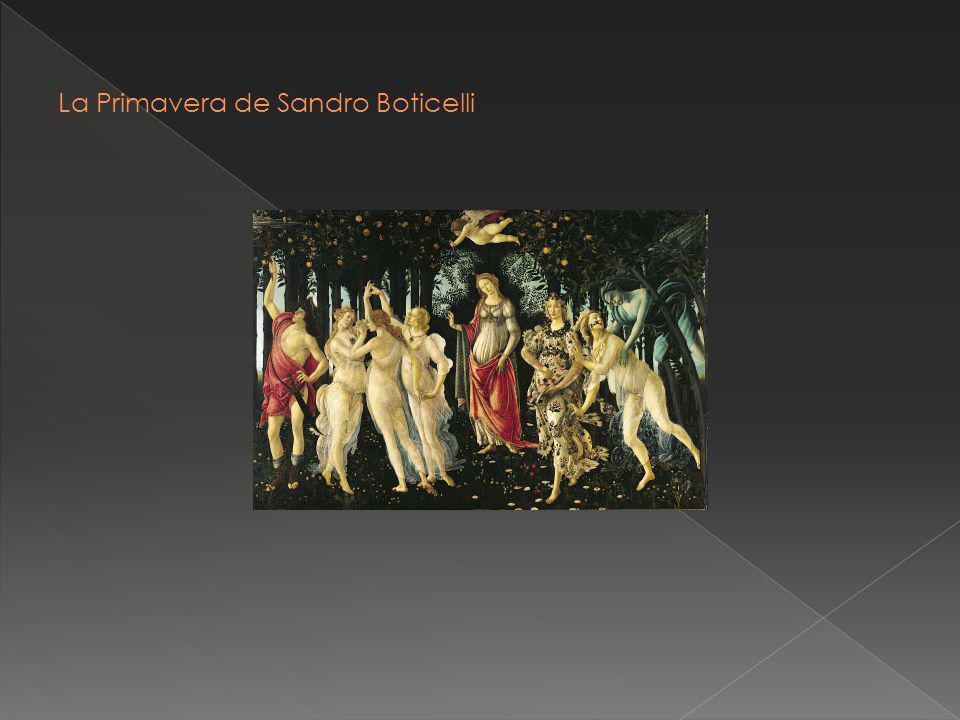 La Primavera de Sandro Boticelli