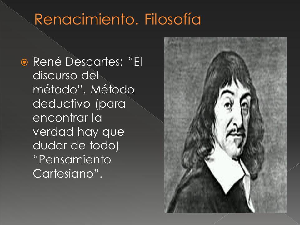 Renacimiento. Filosofía