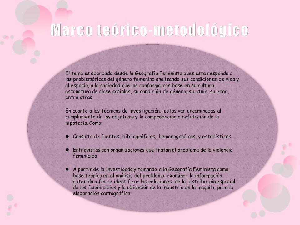 Marco teórico-metodológico