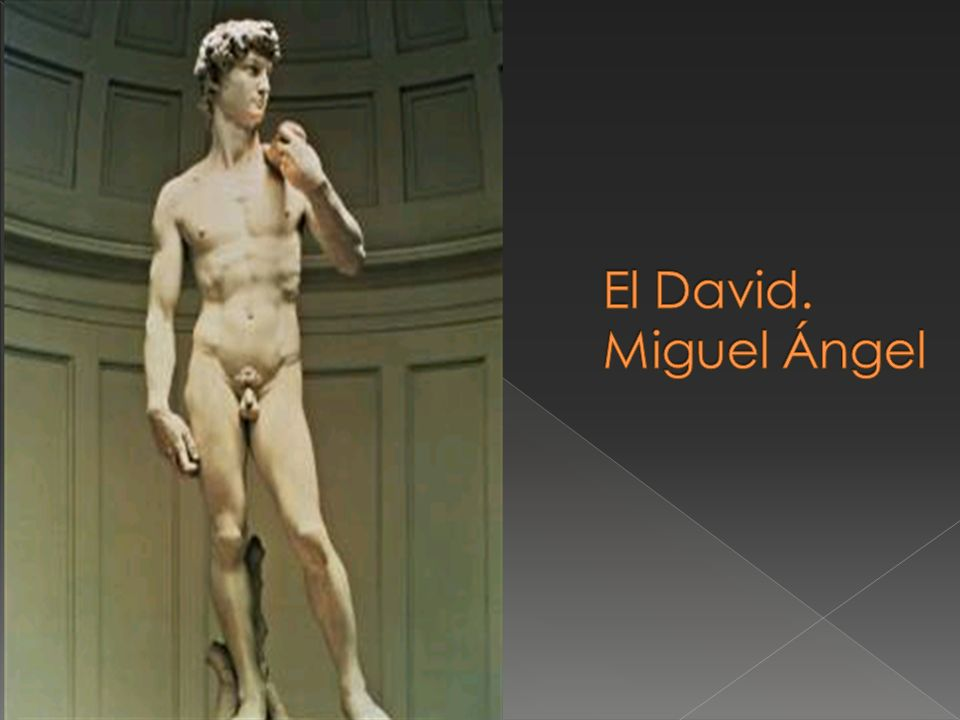 El David. Miguel Ángel