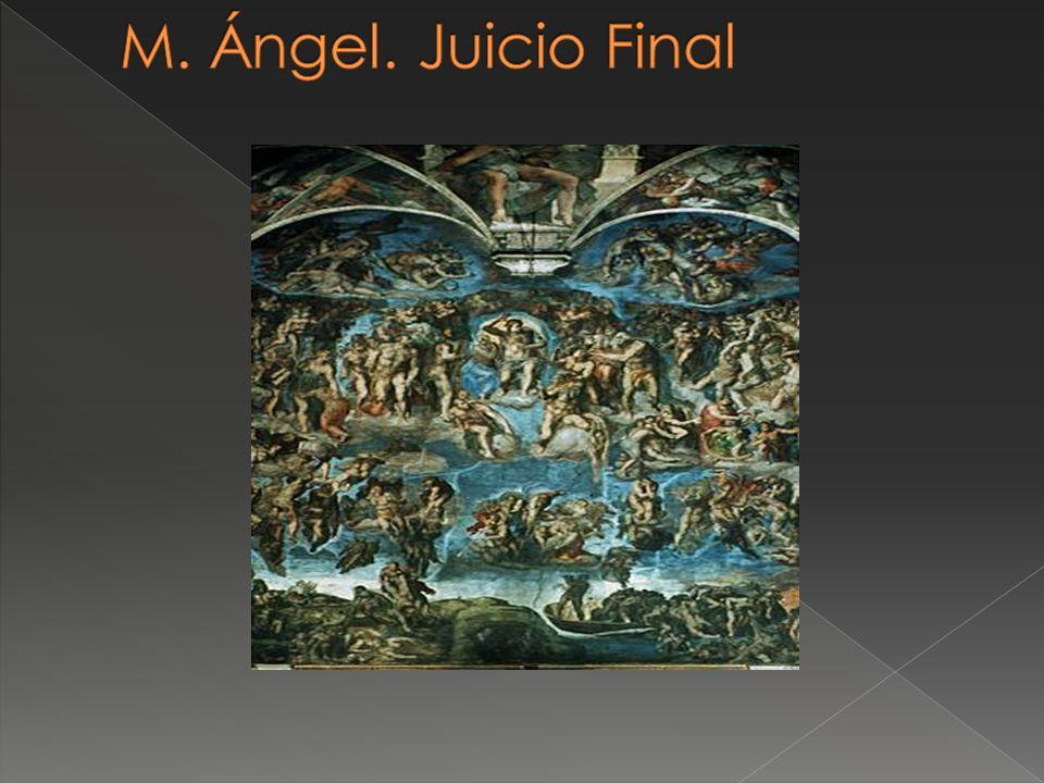 M. Ángel. Juicio Final