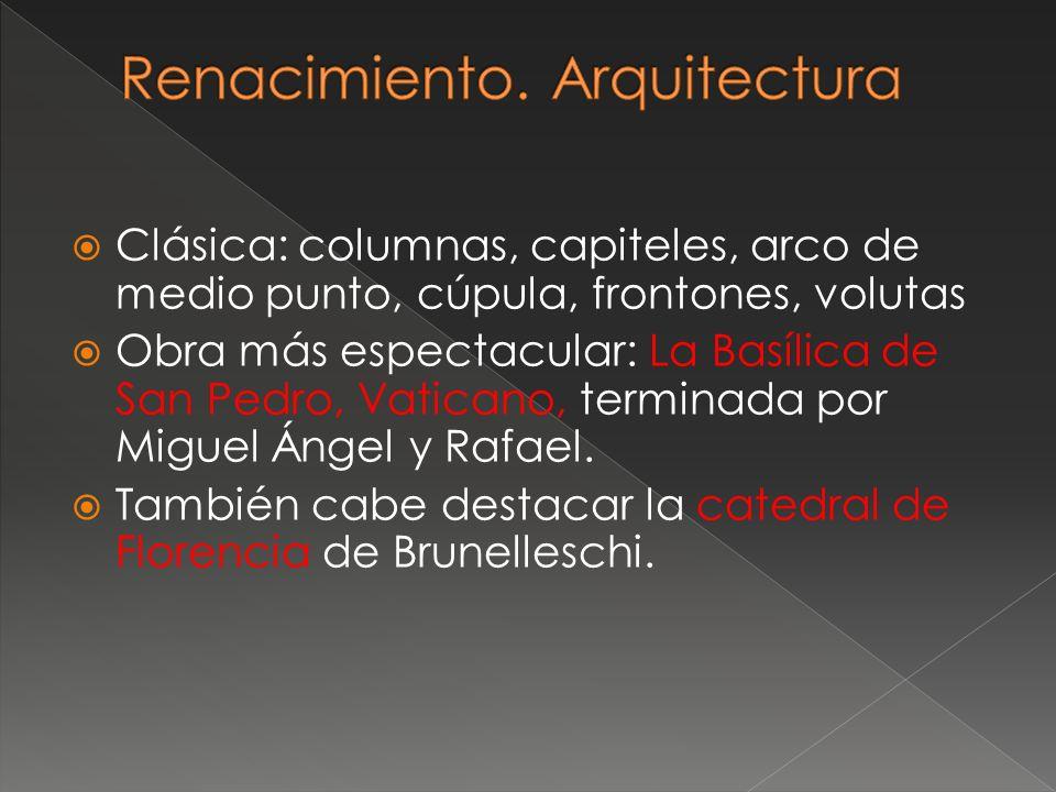 Renacimiento. Arquitectura