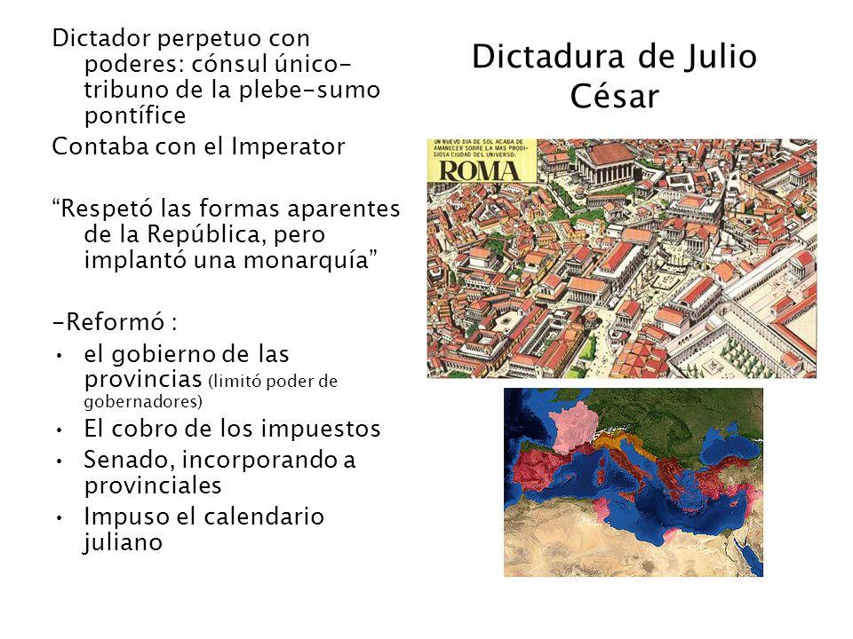 Dictadura de Julio César