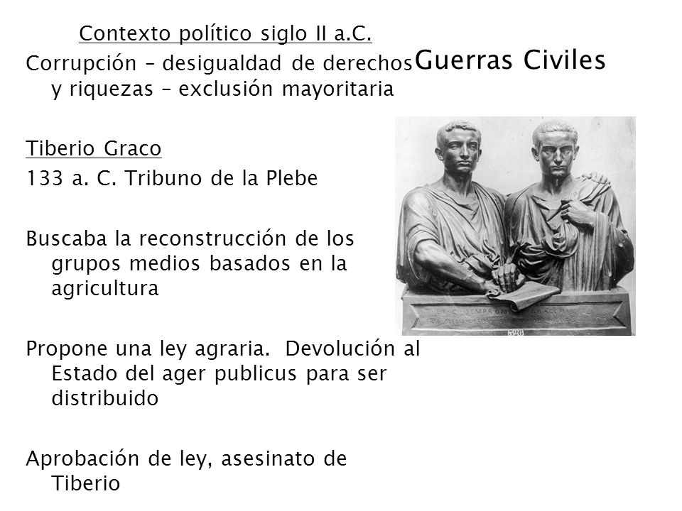 Contexto político siglo II a.C.