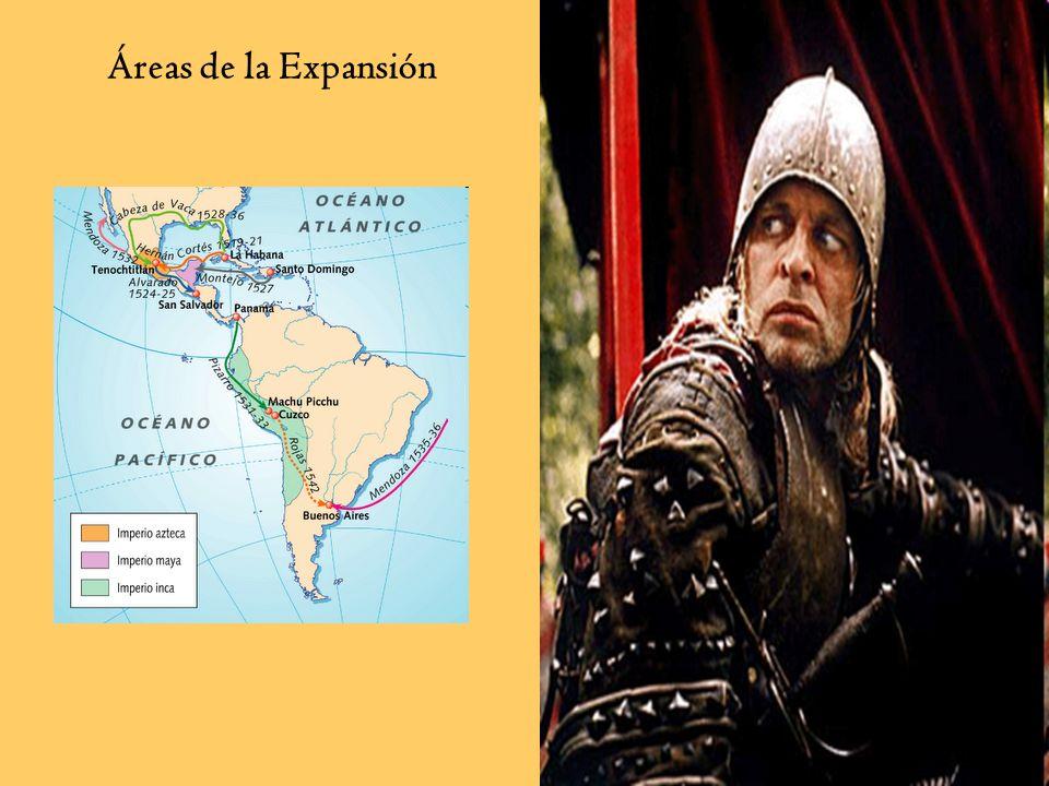 Áreas de la Expansión