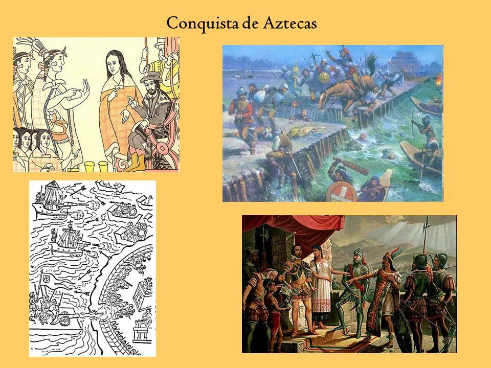 Conquista de Aztecas