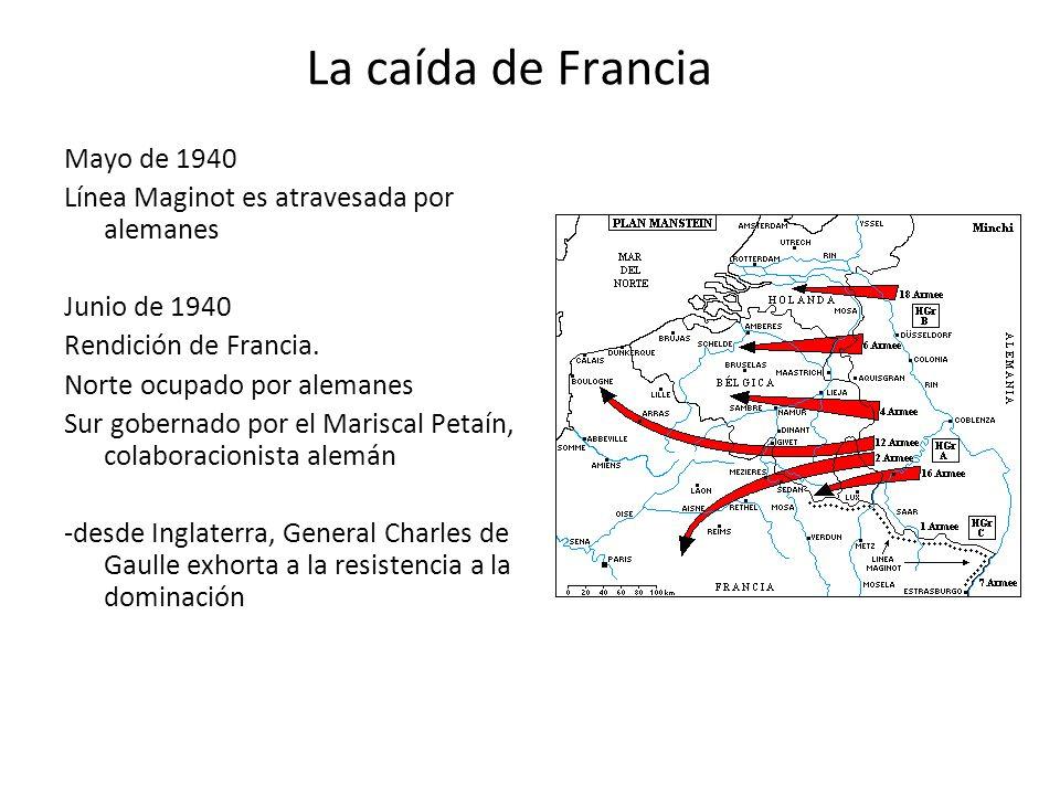 La caída de Francia Mayo de 1940