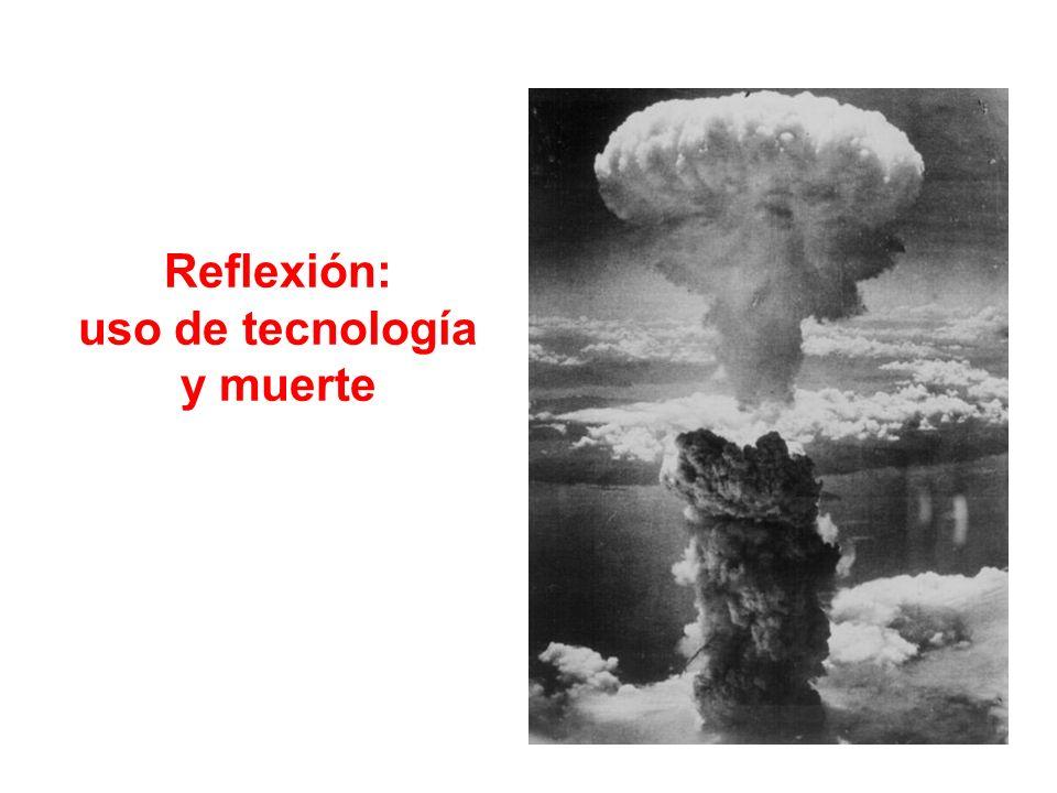 Reflexión: uso de tecnología y muerte