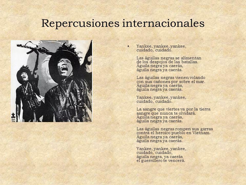 Repercusiones internacionales
