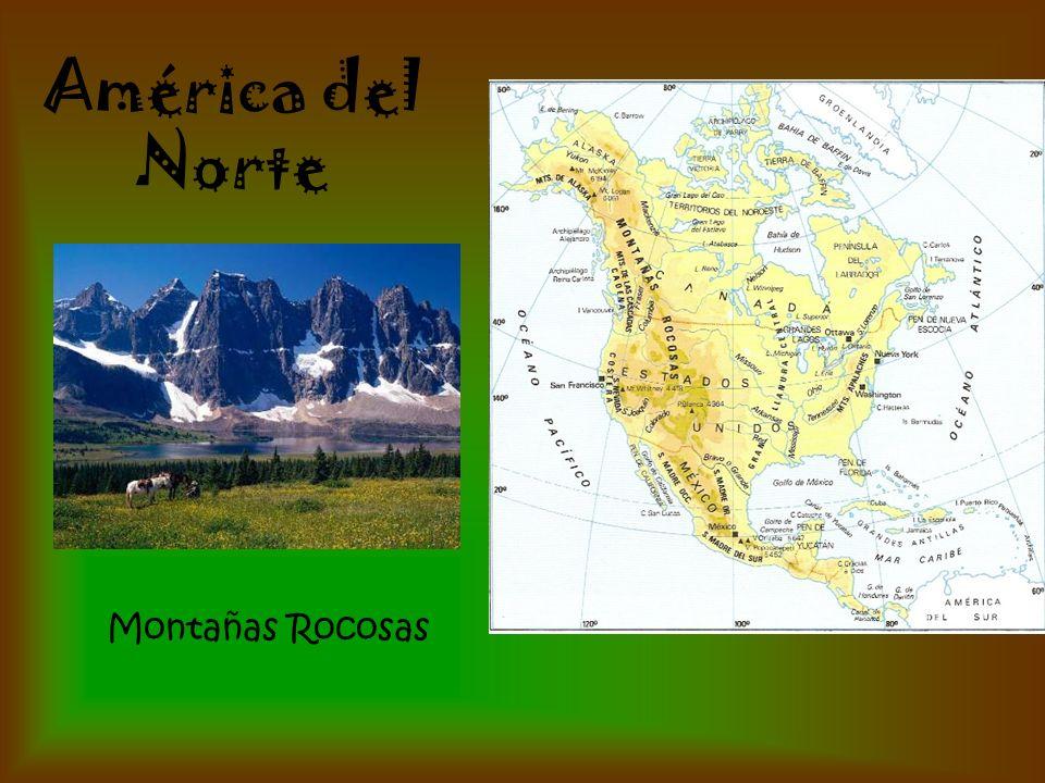 América del Norte Montañas Rocosas