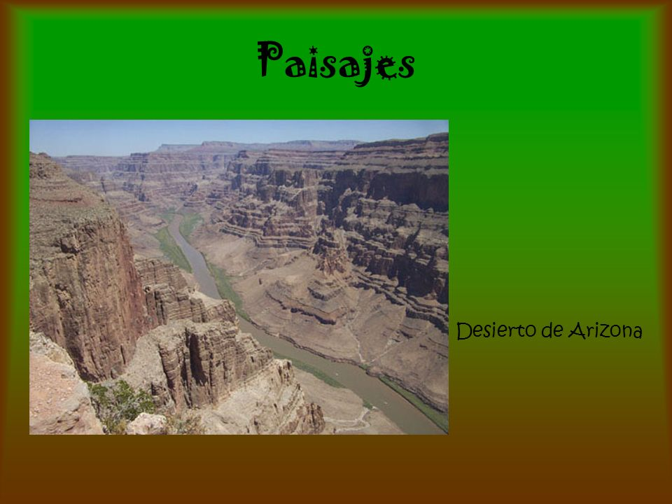 Paisajes Desierto de Arizona