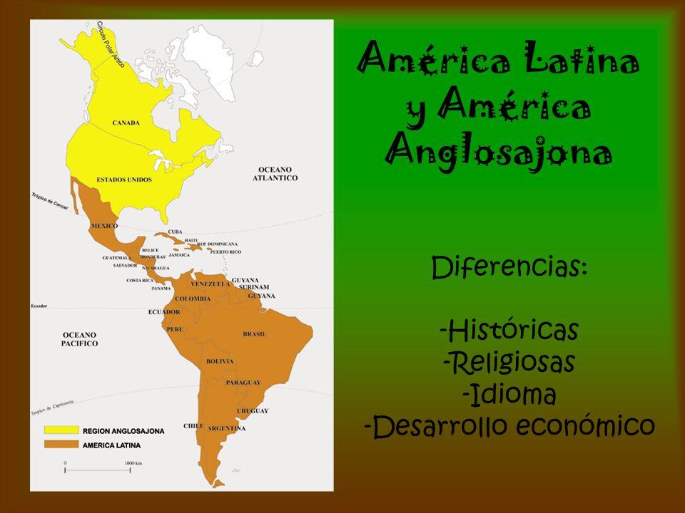 América Latina y América Anglosajona