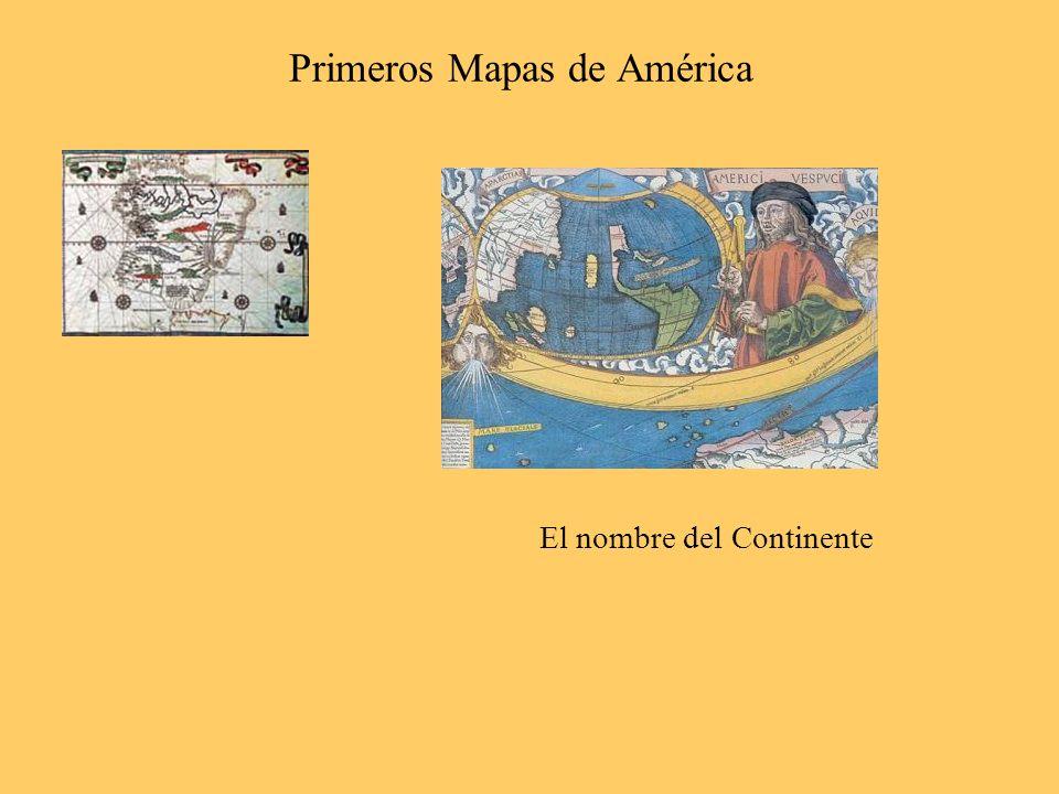 Primeros Mapas de América