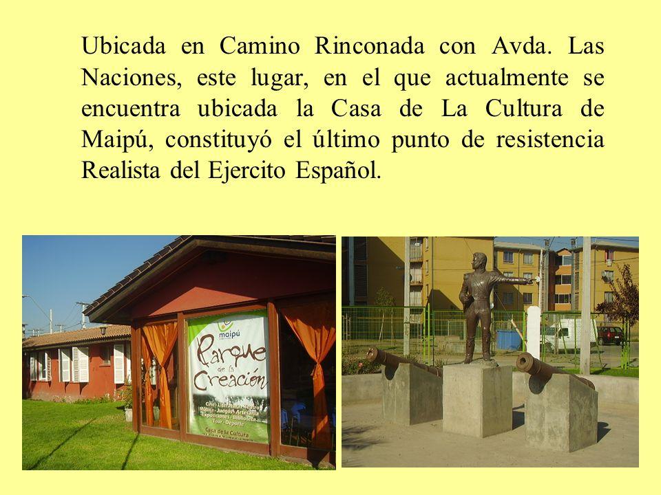 Ubicada en Camino Rinconada con Avda
