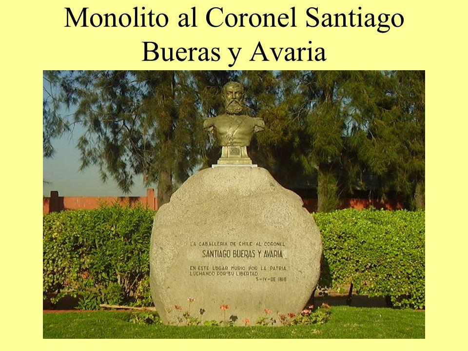 Monolito al Coronel Santiago Bueras y Avaria