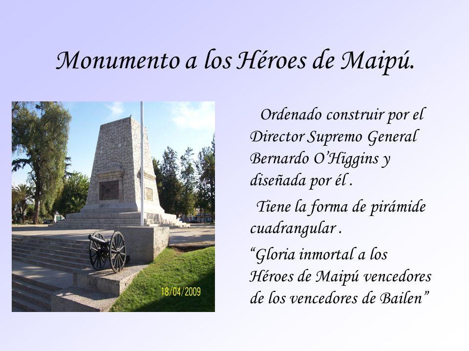 Monumento a los Héroes de Maipú.