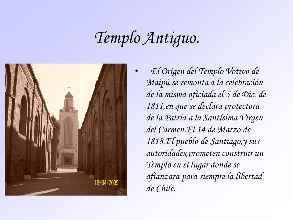 Templo Antiguo.