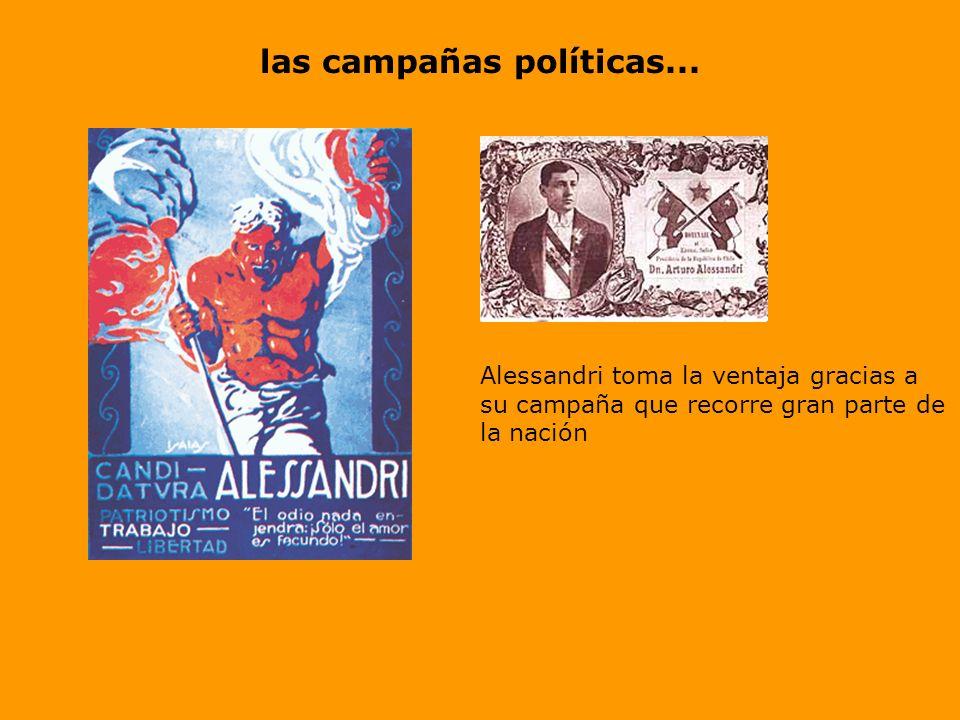 las campañas políticas...