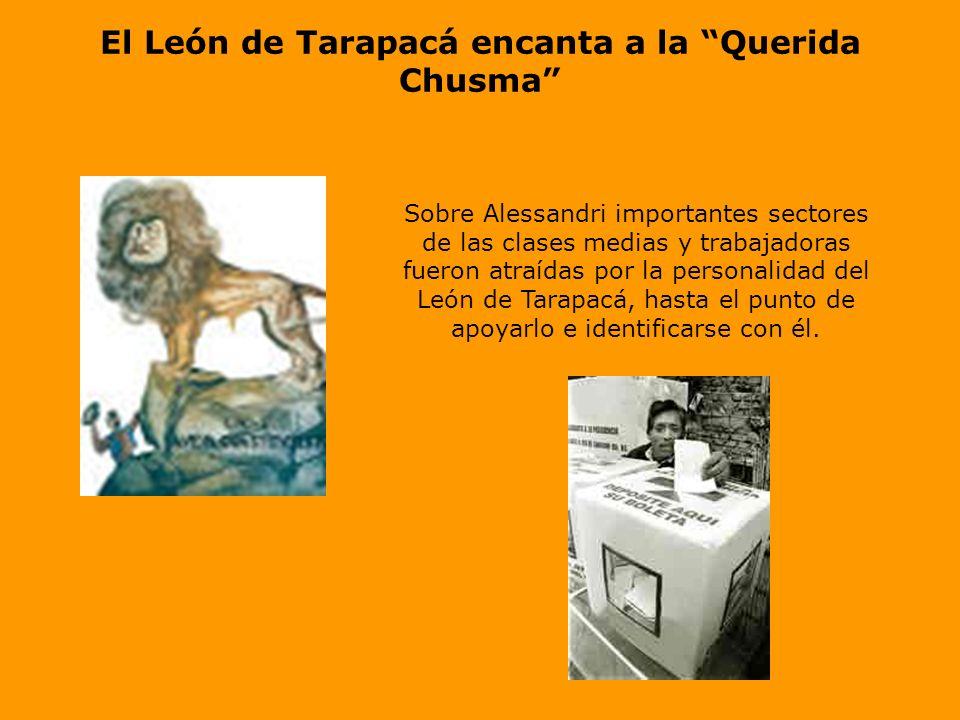 El León de Tarapacá encanta a la Querida Chusma