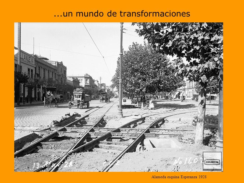 ...un mundo de transformaciones