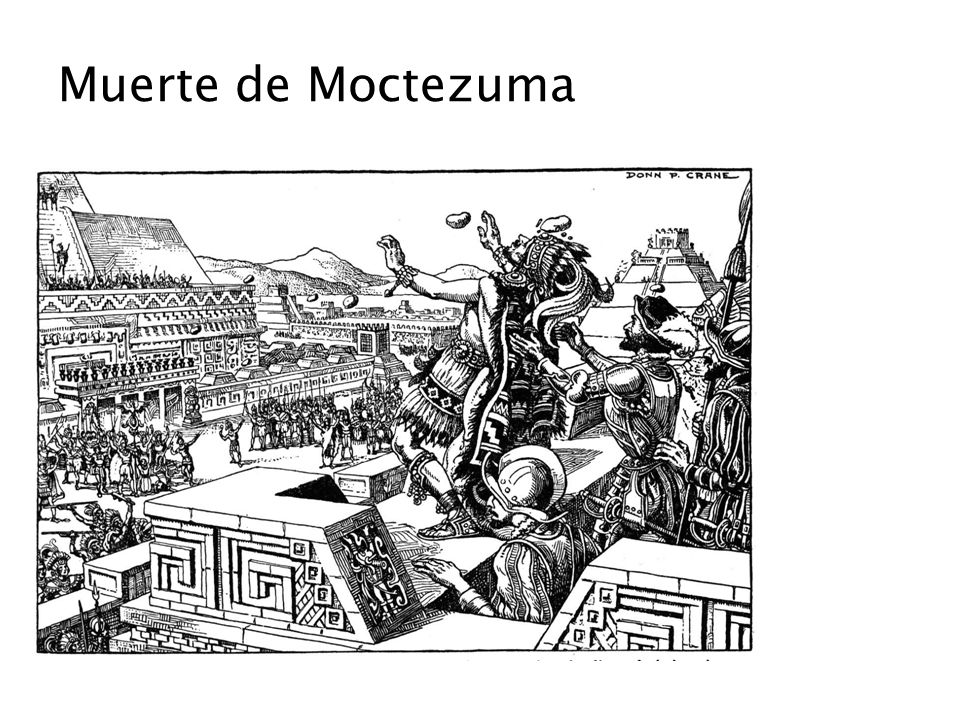 Muerte de Moctezuma