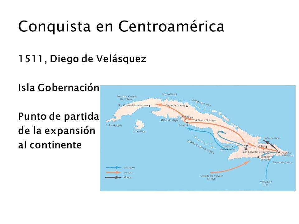 Conquista en Centroamérica