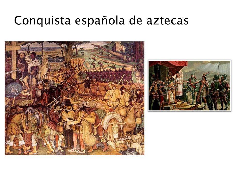 Conquista española de aztecas