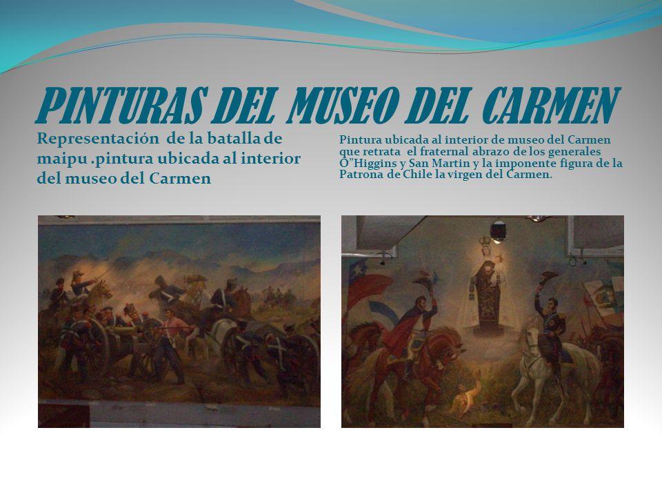 PINTURAS DEL MUSEO DEL CARMEN